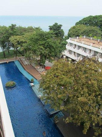 Cosy Beach Hotel: Вид из номера