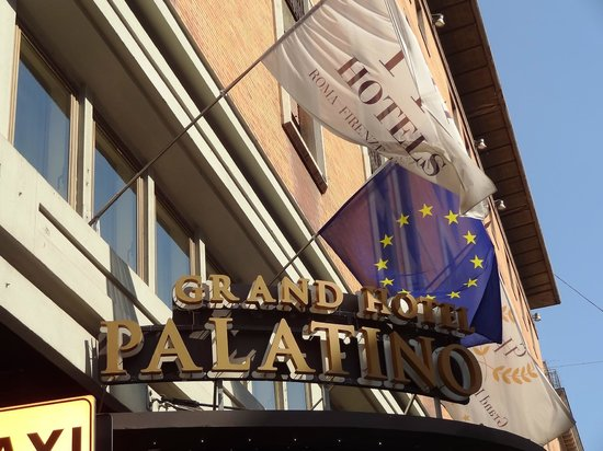 FH Grand Hotel Palatino: Outside view of the Palatine Grand Hotel.