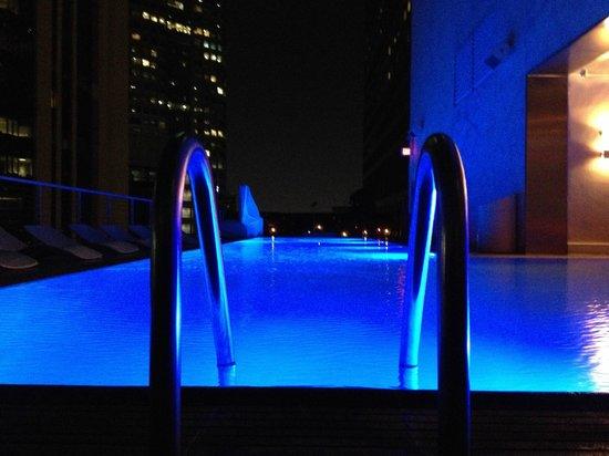The Standard Downtown: piscina sul tetto