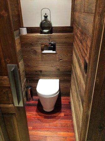 Hotel Le Montana : Toilettes séparées