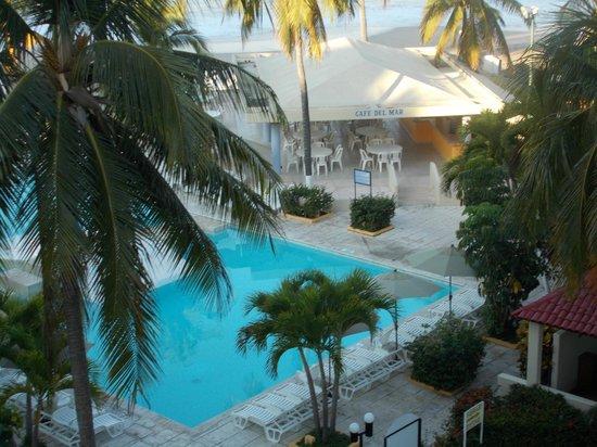 Hotel Fontan Ixtapa : vu de notre chambre