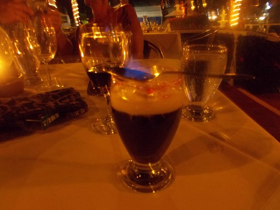 Hotel Fontan Ixtapa : hacienda ! café flambé de Sergio