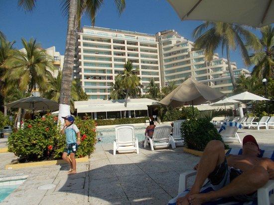Hotel Fontan Ixtapa : vu de condos