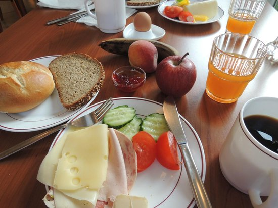 Gaestehaus Sleps: 朝食です