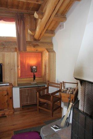 Saint Hubertus Resort: Living room