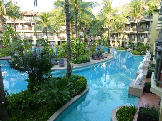 Phuket Marriott Resort & Spa, Merlin Beach: Waterfall pool