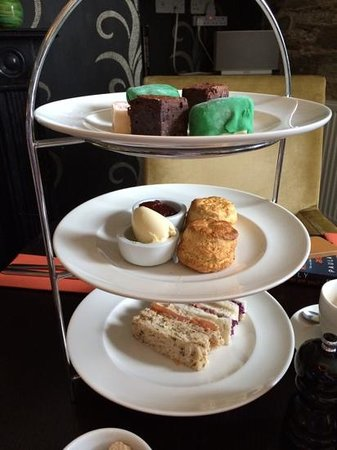 The Cornwall Hotel, Spa & Estate: £30 for this afternoon tea