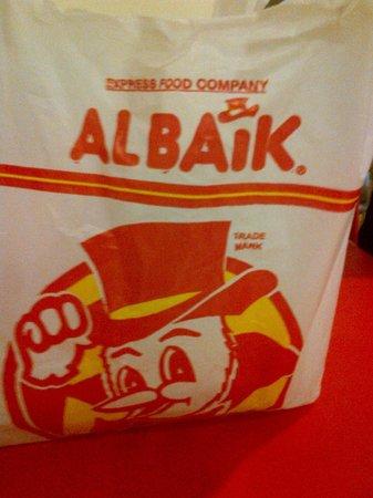 Albaik : Best garlic sauce - Ever!