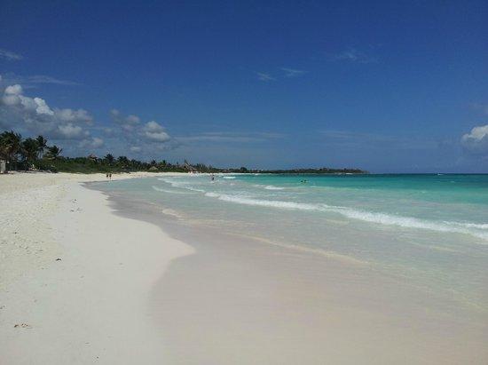 Xpu-ha Beach: la più bella spiaggia mai vista....