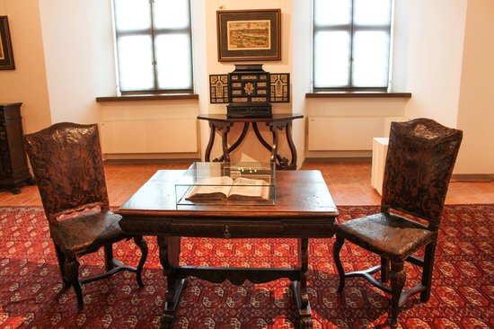 Palace of the Grand Dukes of Lithuania, National Museum: Стол переговоров))))