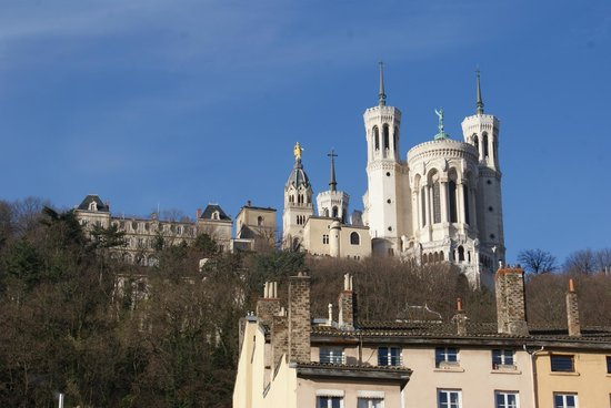 Basilique Notre Dame de Fourviere: Basilica de Notre Dame de Fourviere,Lyon Francia