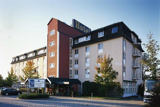Amber Hotel Chemnitz Park: Hotel von außen