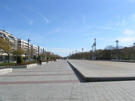 AC Hotel Cordoba: Avenida de la Libertad di fronte all'Hotel