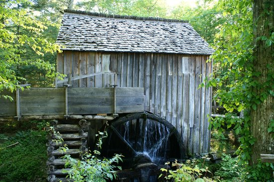 Cades Cove Visitor Center: Cable Mill (moulin)