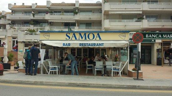 Bar Samoa: Bar Restaurant Samoa. Open all year.
