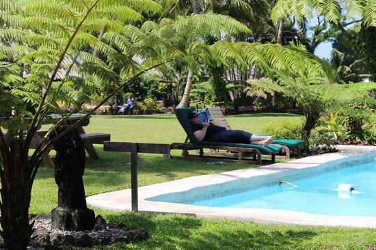 Paradise Taveuni : Just relaxing
