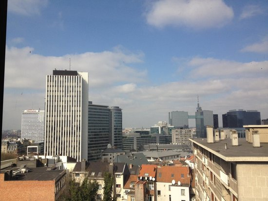 NH Brussels Bloom: view from 7th floor