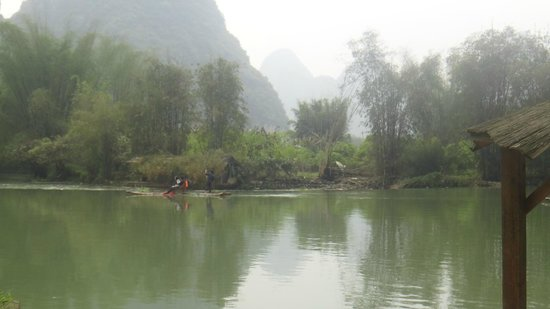 Yangshuo Mountain Retreat : View from the room
