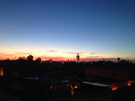 Riad Nesma : Panorama da terrazza