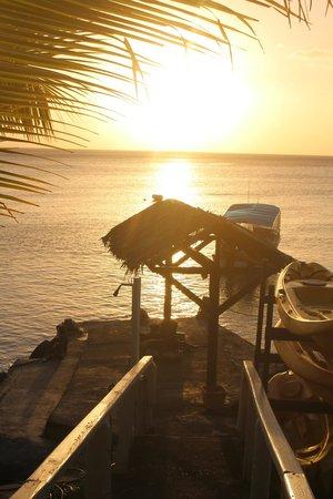 Paradise Taveuni : Beautiful sunsets