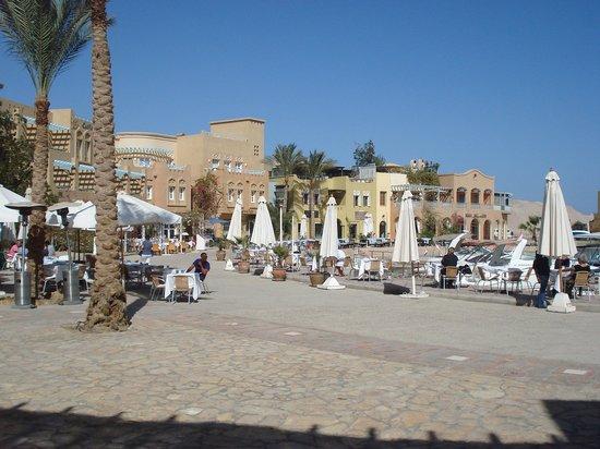 Abu Tig Marina: Vue partielle de la marina.
