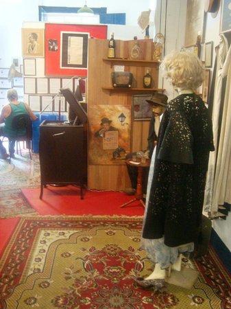 Vicente Celestino e Gilda de Abreu Museum: todos acessórios da época