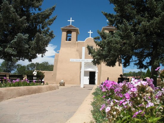 San Francisco de Assisi Mission Church: l'entrée