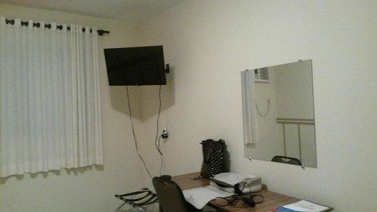 Hotel Concord: Tv tela plana