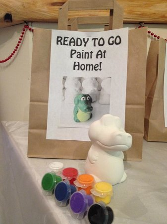 Art & Mor: Can't stay to paint? Not to worry, Ready-To-Go paint at home bags are just the ticket