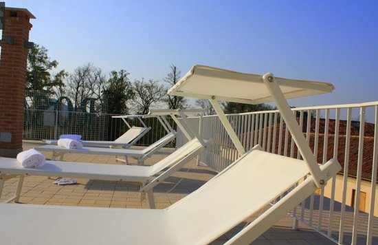 Hotel Rosa: SOLARIUM PARTICOLARE