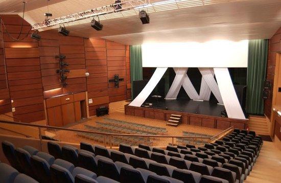 Village Vacances Lamoura: Auditorium et salle de cinéma