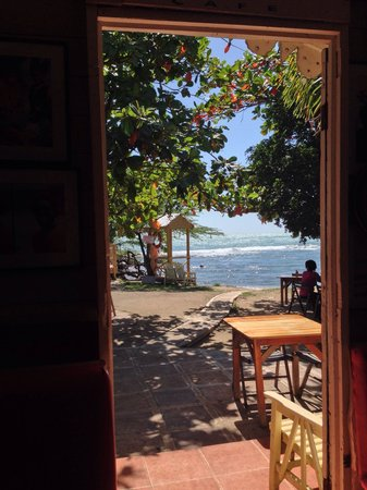Jack Sprat Seafood and Pizza : A view from inside Jack's