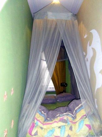 Villa Brimborion : chambre à coucher