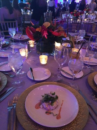 Hyatt Regency Tulsa: beautiful awards banquet set-up