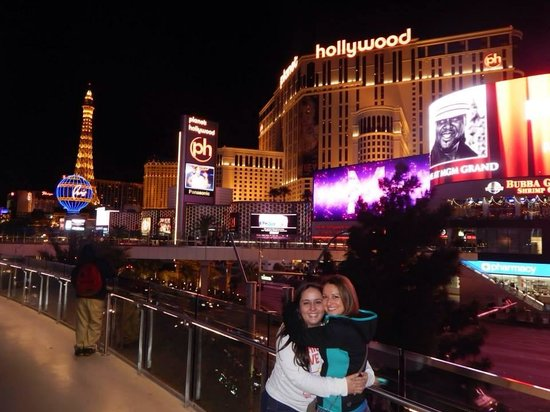 Planet Hollywood Resort & Casino: Fachada do hotel!