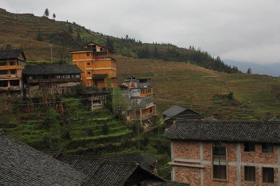 Longji Holiday Hotel : View from balcony