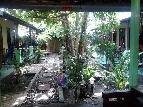 Pondok Twins Garden: Il meraviglioso giardino fra le camere