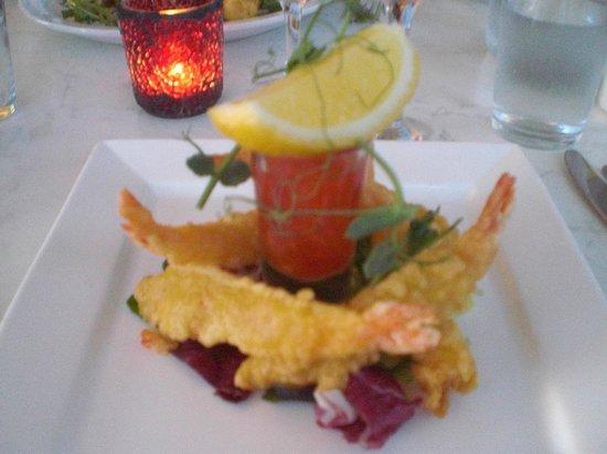 The Grove Bistro: Prawn tempura