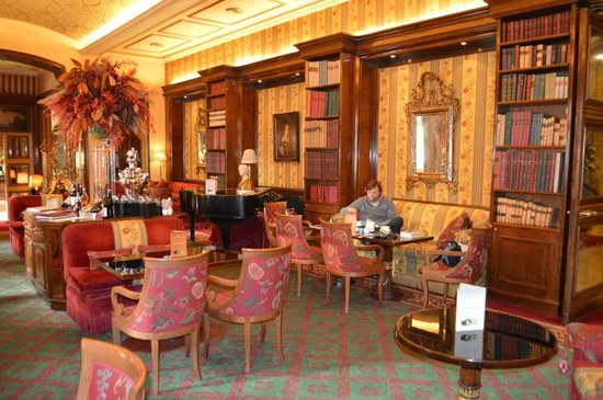 Hotel Hassler : lounge/bar