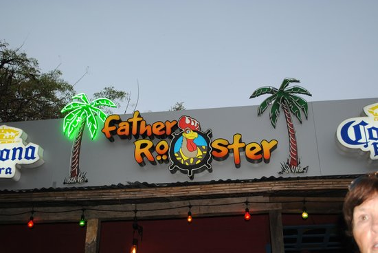 Father Rooster Beachfront Bar & Grill : father rooster
