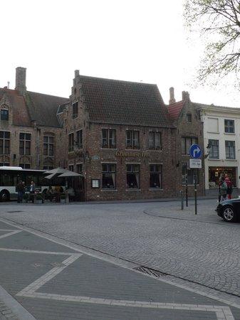 Gruuthuse Hof: View of Restaurant