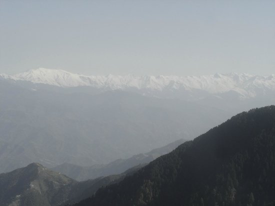 Aamod at Dalhousie: view from the room
