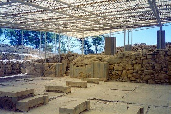 Phaistos (Phaestos): palazzo