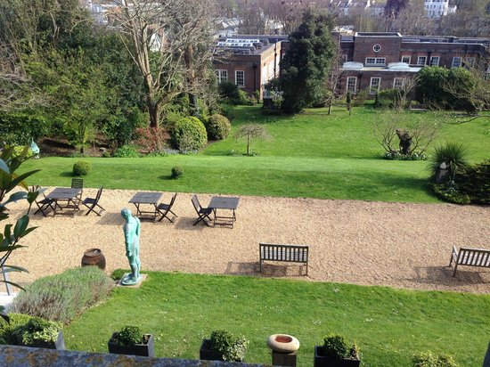 Pelham House: the view from our room
