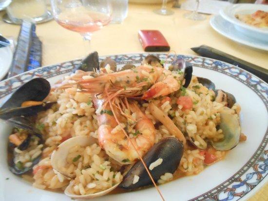 La Baie D'Amalfi : le risotto pescatore