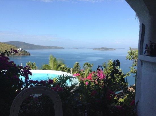 AL FARO Cosmio Hotel Palawan: View form the dining area