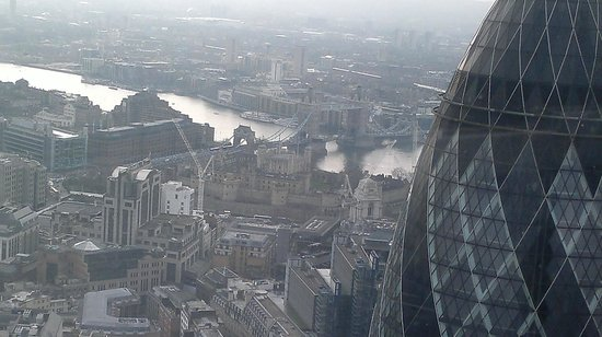 Heron Tower: THE VIEW