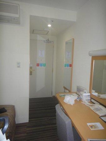 "Comfort Hotel Tokyo Higashi Nihonbashi : Chambre à deux lits plus spacieuse ""twin room"""