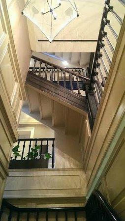 Hotel Wales: Hallway
