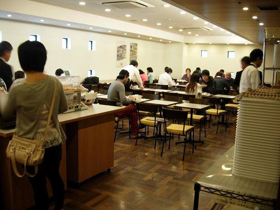 Comfort Hotel Tokyo Higashi Nihonbashi : Salle du petit déjeuner